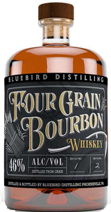 Bluebird Distilling Four Grain Bourbon