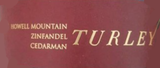 Turley Cedarman Vineyard Zinfandel 2015