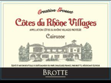 Brotte Cairanne Creation Grosset 2015