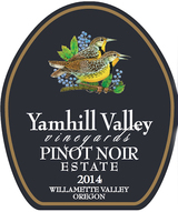 Yamhill Valley Vineyards Pinot Noir 2014