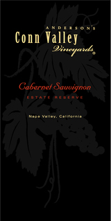 Anderson's Conn Valley Vineyards Estate Reserve Cabernet Sauvignon 2012
