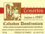 Lemorton Calvados 1987