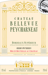 Chateau Bellevue-Peycharneau Bordeaux Superior 2014