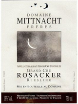 Domaine Mittnacht Freres Rosacker Riesling 2014