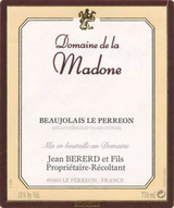 Domaine de la Madone Beaujolais Villages Le Perreon 2016