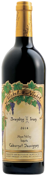 Nickel & Nickel Branding Iron Vineyard Cabernet Sauvignon 2014