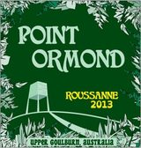 Point Ormond Upper Goulburn Roussanne 2013