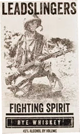 Leadslingers Whiskey Fighting Spirit Rye Whiskey