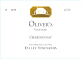Talley Vineyards Oliver's Vineyard Chardonnay 2015