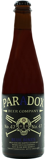Paradox Beer Company Skully Barrel No. 47 Blue Bines