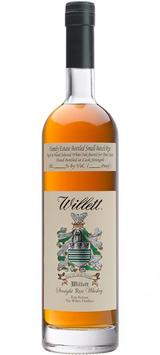 Willett Straight Rye Whiskey 3 year old