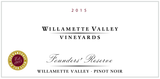 Willamette Valley Vineyards Founders' Reserve Pinot Noir 2015