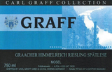 Carl Graff Mosel Riesling Spatlese 2014