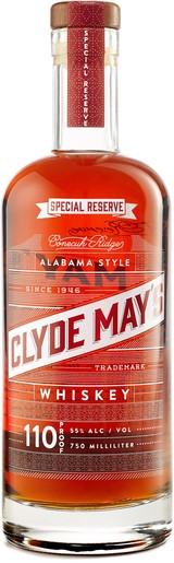 Clyde May's Alabama Style Special Reserve Whiskey