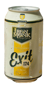 Iron Monk Brewing Exit 174 Rye Pale Ale