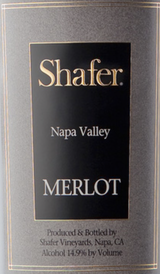 Shafer Napa Valley Merlot 2014