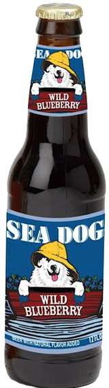 Sea Dog Brewing Company Wild Blueberry Wheat Beer