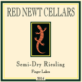 Red Newt Cellars Semi Dry Riesling 2014