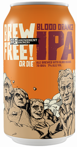 21st Amendment Brewery Brew Free! or Die Blood Orange IPA