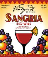 Lost Vineyards Red Sangria