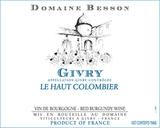 Xavier Besson Givry Le Haut Colombier 2015
