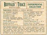 Buffalo Trace Experimental Collection Organic 6 Grain Whiskey