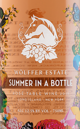 Wolffer Summer in a Bottle Rosé 2016
