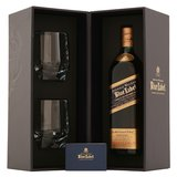 Johnnie Walker Blue Label Gift Set with Two Tumblers