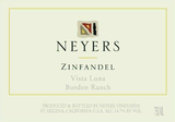 Neyers Vista Luna Borden Ranch Zinfandel 2016