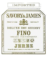 Savory & James Fino Sherry