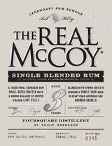 Real McCoy Rum 3 year old