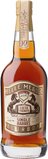 Belle Meade Red's Single Barrel Bourbon 10 year old