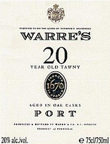 Warre's Tawny Port 20 year old