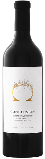Conclusion Wines Cabernet Sauvignon Stagecoach Vineyard 2014