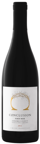 Conclusion Wines Pinot Noir Sangiacomo Vineyard 2015