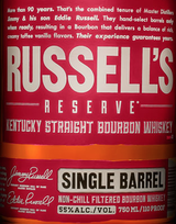 Wild Turkey Russell's Reserve Single Barrel Kentucky Straight Bourbon Whiskey