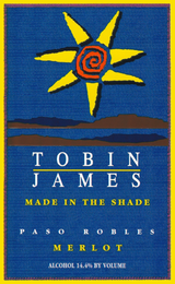Tobin James Made In The Shade Merlot 2012