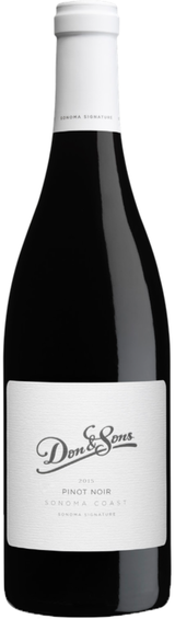 Don & Sons Sonoma Coast Pinot Noir 2015