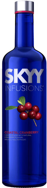Skyy Infusions Coastal Cranberry Vodka