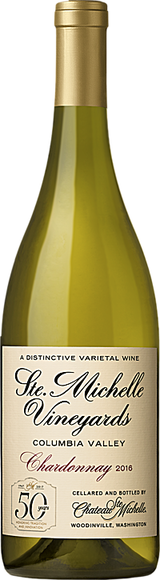 Chateau Ste. Michelle Columbia Valley Chardonnay 50th Anniversary 2016