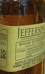 Jefferson's Wood Experiment Collection No. 12