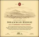 Shannon Ridge High Elevation Cabernet Sauvignon 2015