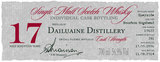A.D. Rattray Dailuaine Single Malt Scotch Whisky 17 year old