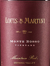 Louis M Martini Monte Rosso Mountain Red 2012