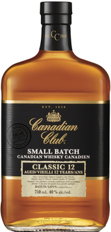 Canadian Club Classic Canadian Whisky 12 year old