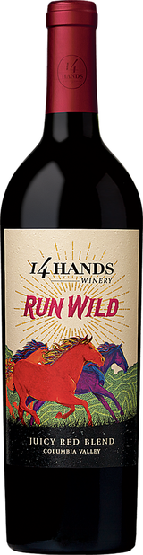 14 Hands Run Wild Juicy Red Wine Blend 2016