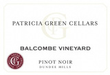 Patricia Green Balcombe Vineyard Pinot Noir 2015