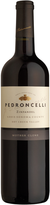 Pedroncelli Mother Clone Zinfandel 2015