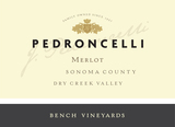 Pedroncelli Bench Vineyards Merlot 2015