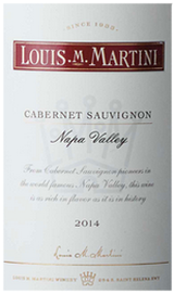 Louis M Martini Napa Valley Cabernet Sauvignon 2014
